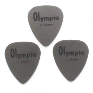 Olympia Stainless Steel Guitar Picks