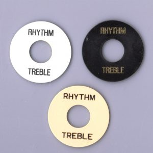 Rhythm/Treble Guitar Switch Plate