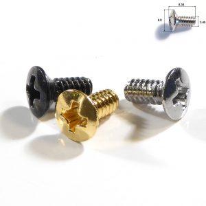 Guitar pickup switch screw