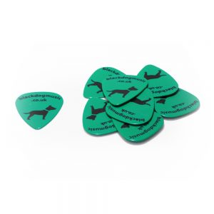 Black Dog Music Branded Guitar Plectrums