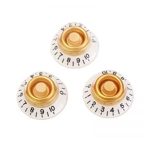 H-12 strat knobs cream and white b