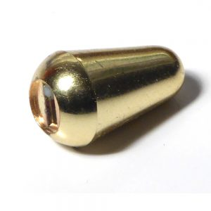 Gold guitar switch tip