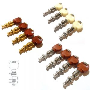 Set of 4 Ukulele / Banjo machine heads