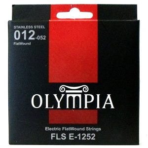 Olympia Flatwound Electric Guitar Strings