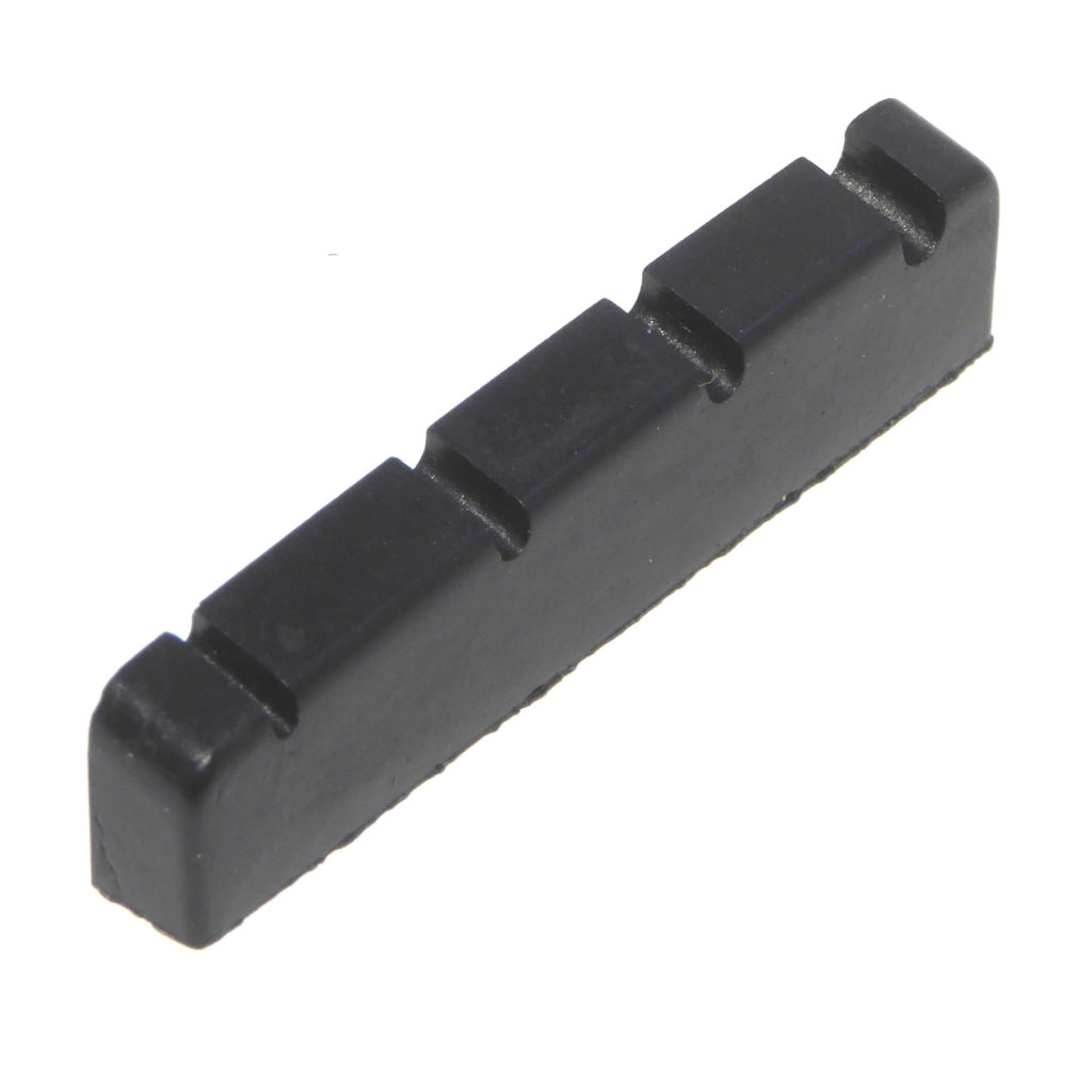 Bass Guitar Nut 4 String Black Top Nut 41 X 5.9 X 3.3