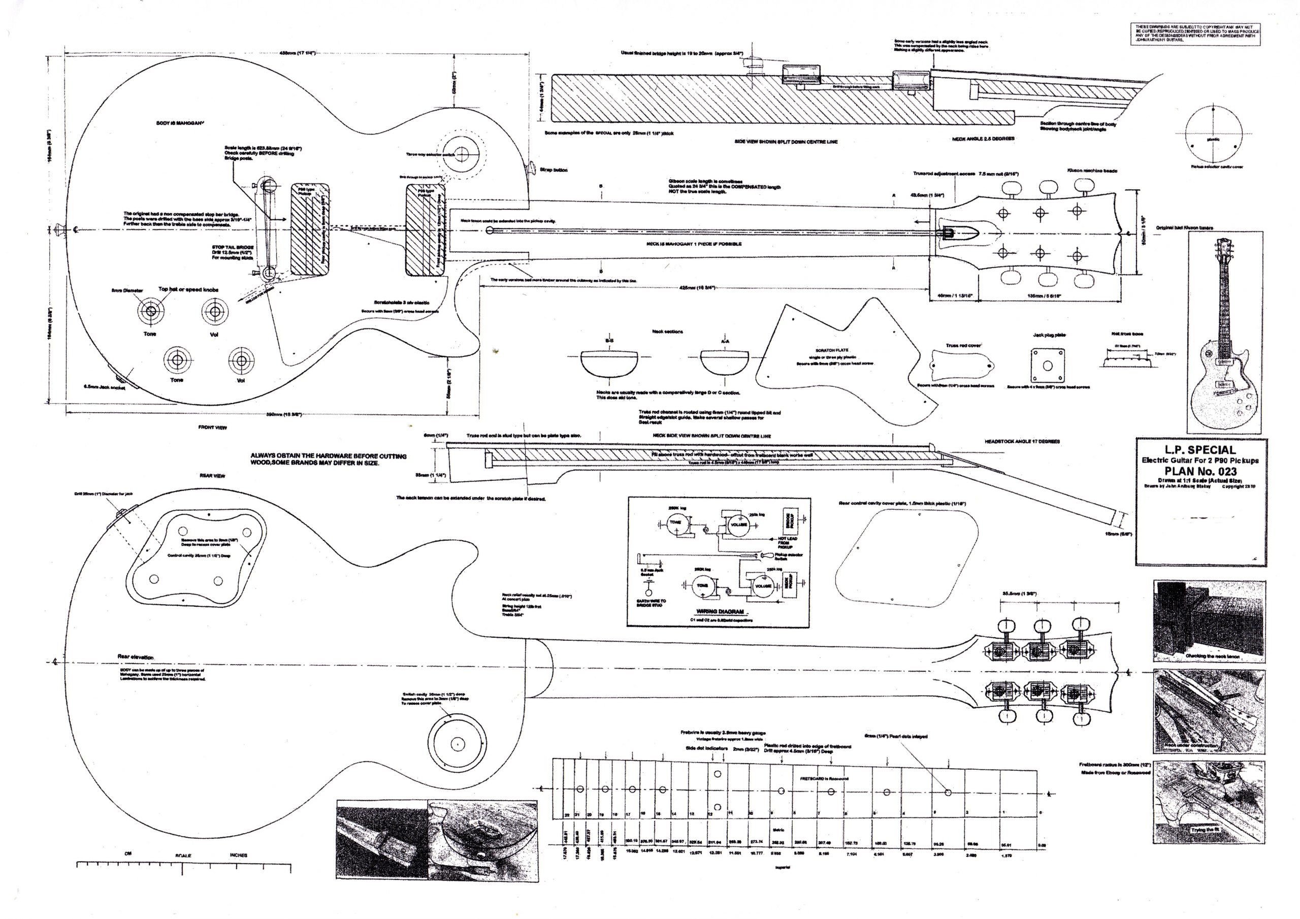 Les Paul Special Wiring Diagram - Collection