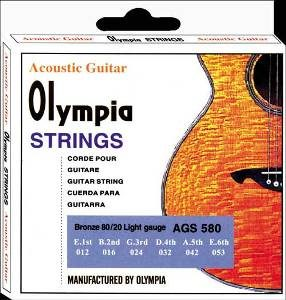 Olympia Light Gauges Acoustic Guitar Strings