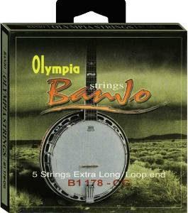 Olympia 5 String Banjo Strings