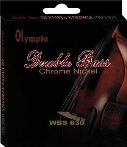 Olympia Flatwound Double Bass Strings