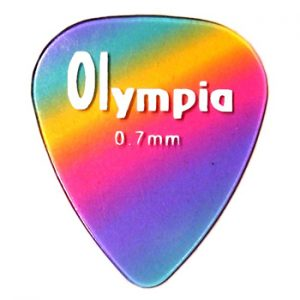Olympia Rainbow Teardrop Guitar Picks