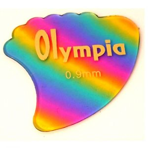 Olympia Rainbow Fin Guitar Picks