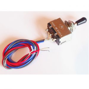 Wired Three Position Toggle Switch