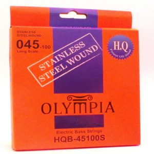 Olympia Stainless Steel Electric Bass Guitar Strings