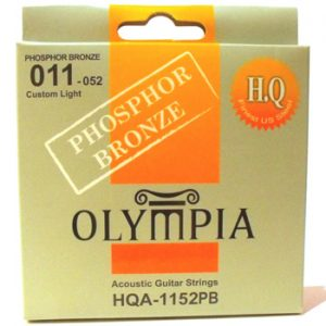 Olympia Custom Light Acoustic Guitar Strings