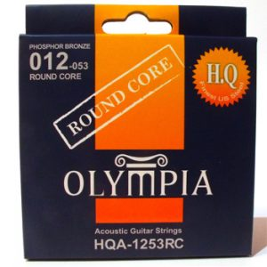 Olympia Round Core Acoustic Guitar Strings