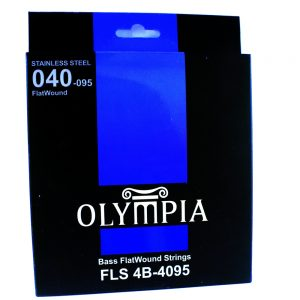 Olympia Flatwound Electric Bass Guitar String