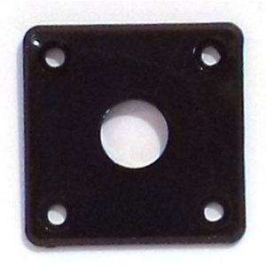 Square Plastic Jack Socket Plate