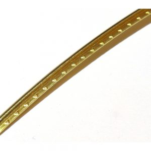 Curved Brass Fret Wire 300 mm