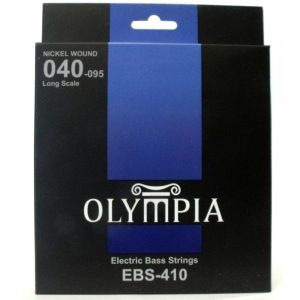 Four Olympia Electric Bass Strings