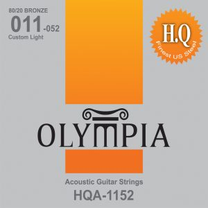 Olympia Custom Light Gauge Acoustic Guitar Strings