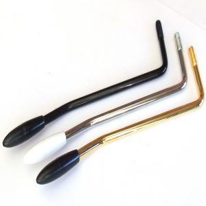 Left Handed Tremolo Arm 6 mm Thread with Tip (Chrome, Black, Gold)