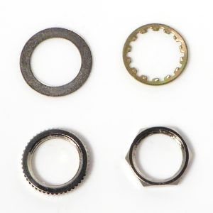 Replacement Nuts and Washers for Guitar Switch