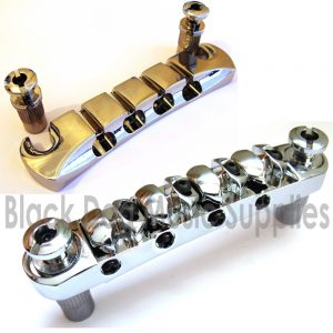 Bass Guitar Bridge and Tailpiece Set
